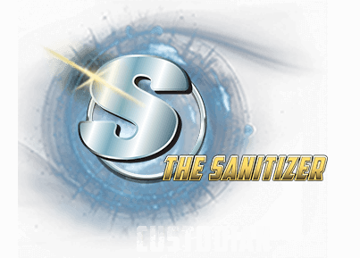 The Sanitizer Logo
